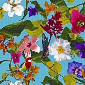 Tropical Bohemian Garden