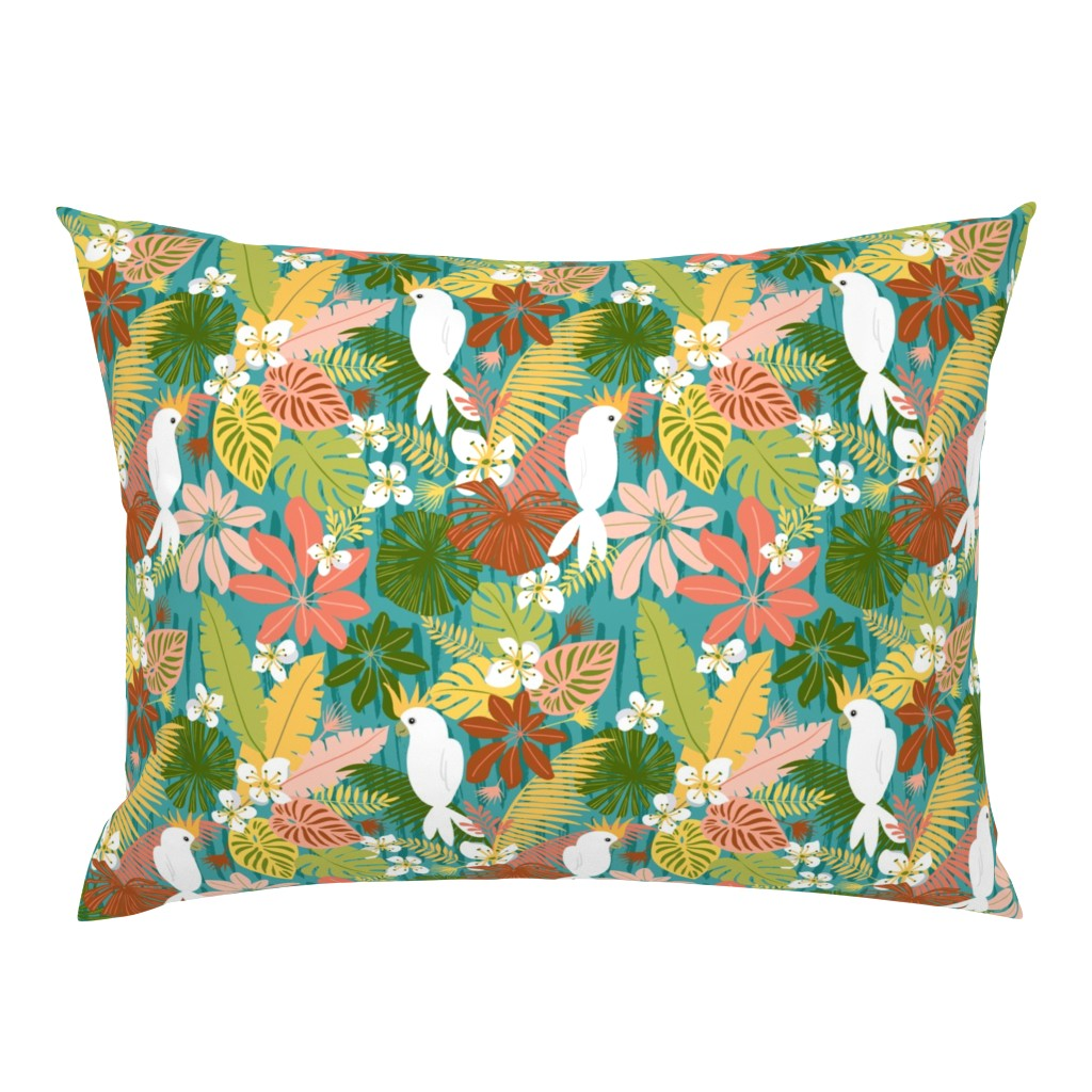Campine Pillow Sham featuring Bohemian Bahama by kimbliss