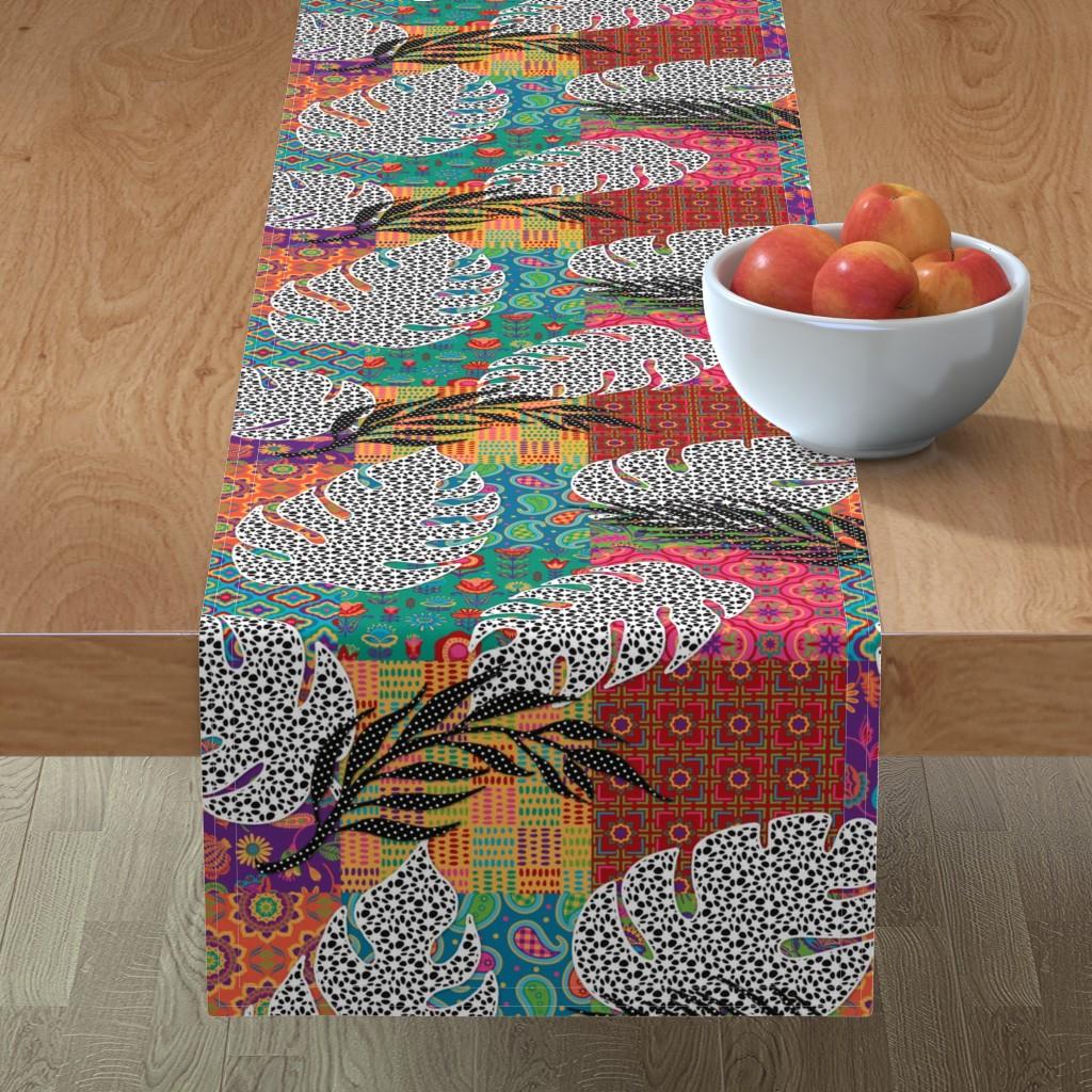 Minorca Table Runner featuring Boho Paradise by malibu_creative