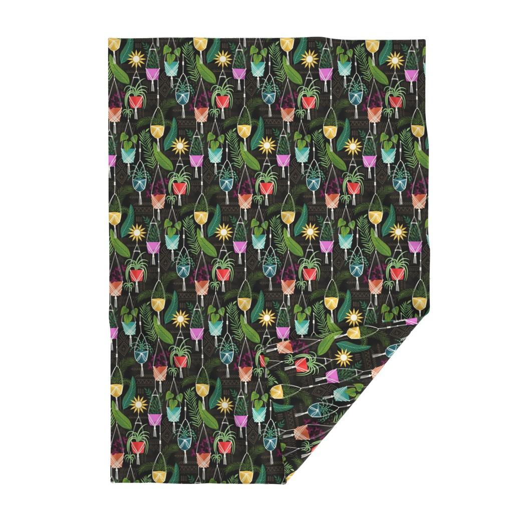 Lakenvelder Throw Blanket featuring Bohemian paradise by laura_may_designs