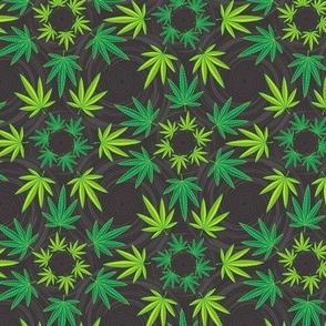 ★ DREAM CATCHER WEED ★ Green & Dark Gray - Small Scale/ Collection : Cannabis Factory 1 – Marijuana, Ganja, Pot, Hemp and other weeds prints