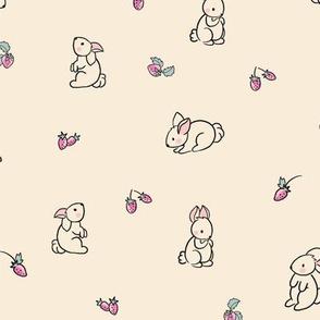 Bunnies and Berries