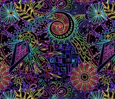 Maxi Neon Doodle