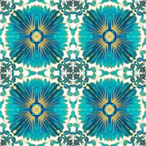 Azulejos - Portuguese Tiles Aqua