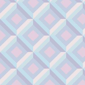 Pastel multi shaped Geo