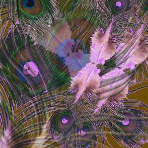 Layered Feathers