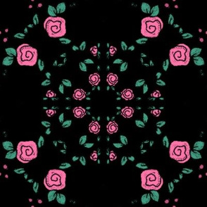 Lem Project 906 | Roses on Black