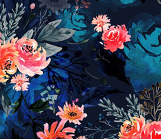 Evening Floral Garden
