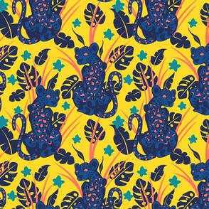 Leopard-Yellow