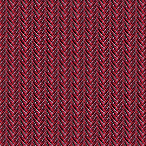 herringbone rosey splash