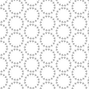 Gray Polka Dot