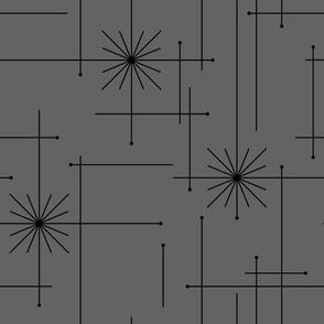 Orbs Starburst - Gray/Black
