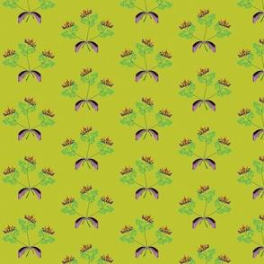 tres fleurs green