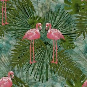 Flamingo Leaves