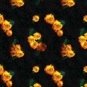 Hot Romantic Roses