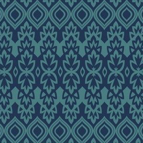 Boho Chic - Indigo & Turquoise