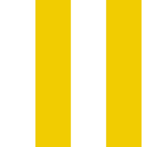 narrow width yellow and white stripes