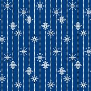 Snowflake Decorations, Night