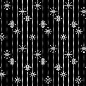 Snowflake Decorations, Midnight