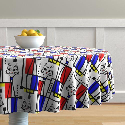 Modern Art Tablecloths