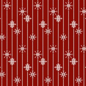 Snowflake Decorations, Cloak Red