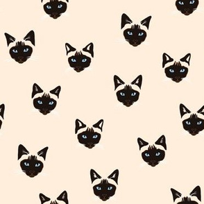 Siamese Cats heads