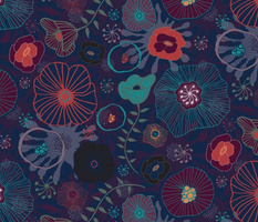 Moody Blues Floral
