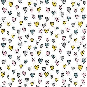 love hearts candy valentine kids