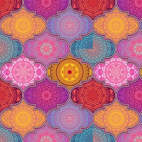 Colorful Bohemian Mandalas