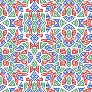 201902 bright sketch pattern 1
