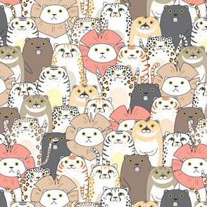 Cute Lions, Tigers And Bears 2