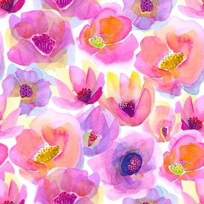 Head-Over-Heels Flowers Pink