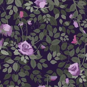 Twilight Rose Garden