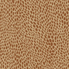 abstract skin on ochre with linen texture