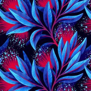 Pohutukawa - Blue / Red - AAM19