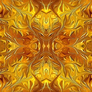 Gold and Bronze abstract