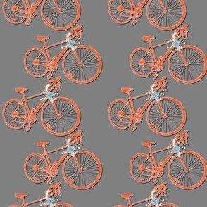 Street Bike - Orange Grey