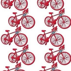 Street Bike -Red White Blue