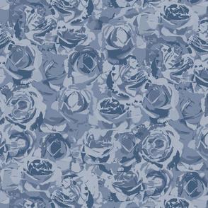 Moody blue roses