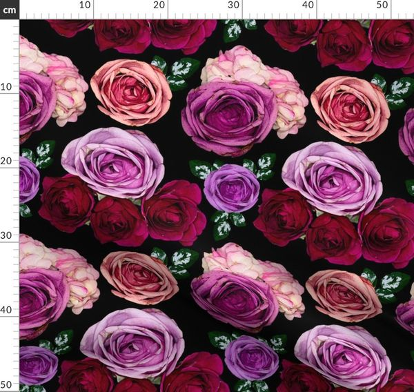 Bed Of Roses Spoonflower