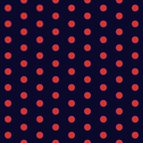 Nautical Lobster Coordinate - Polka Dots