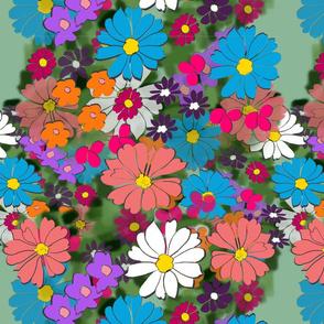 Flower Girl - Green