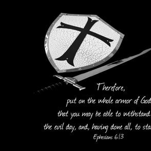 Faith sword and shield