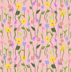 Wildflower Carpet - Pink