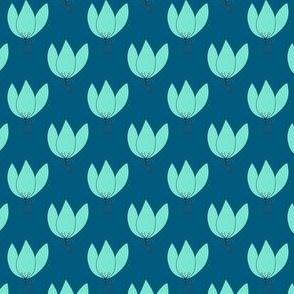 Cute Blue Flowers