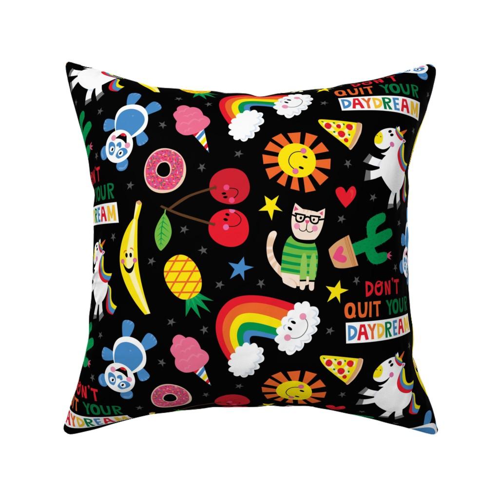 Catalan Throw Pillow featuring Daydream by lisa_kubenez