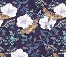 dangerous floral in amethyst