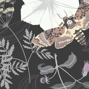 dangerous floral in moonstone