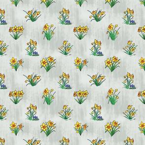April shower daffodils