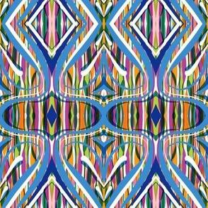 multicolour vertical w bluewhite over